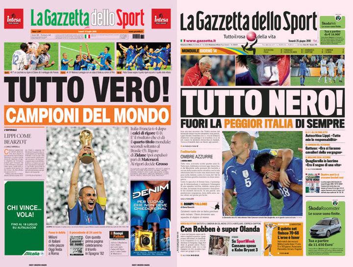 Italien 2006 - 2010